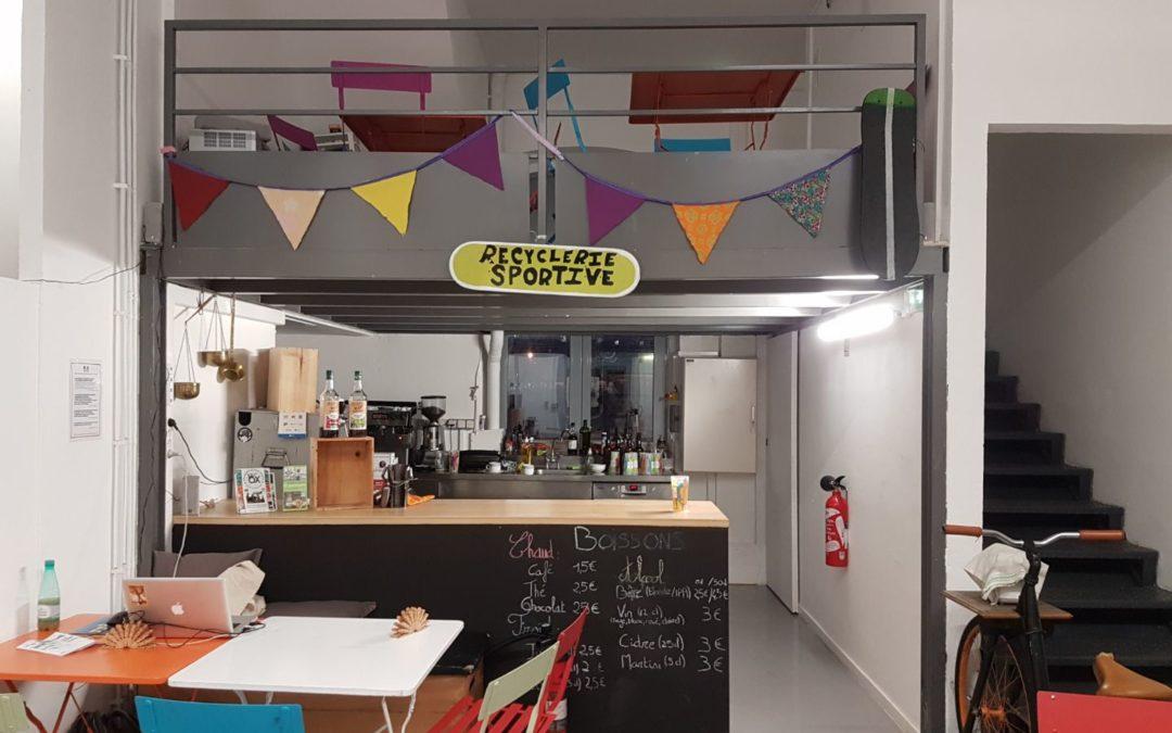 Le Café de la Recyclerie Sportive de Massy a ouvert ses portes !
