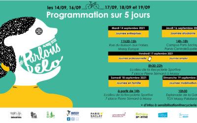 Forum Parlons Vélo Massy 2021, l'événement de la rentrée à l'écolieu de Massy Palaiseau